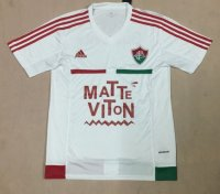 Fluminense 2015-16 Away Soccer Jersey White