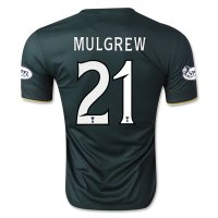 Celtic 14/15 MULGREW #21 Away Soccer Jersey