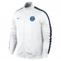 13-14 PSG N98 White Jacket