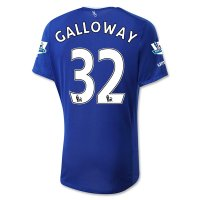 Everton 2015-16 GALLOWAY #32 Home Soccer Jersey