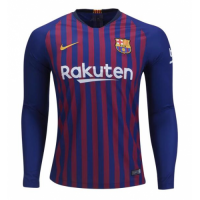 Barcelona 2018/19 Home LS Soccer Jersey