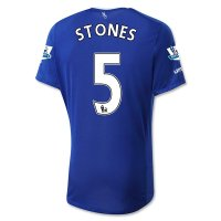 Everton 2015-16 STONES #5 Home Soccer Jersey