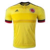 2015-16 Colombia Home Soccer Jersey