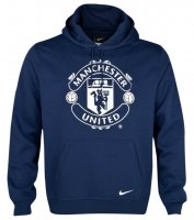 13-14 Manchester United Black Hoody Sweater