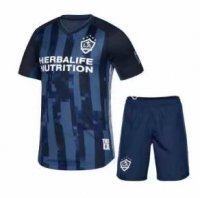 19/20 Kids Los Angeles Galaxy Away Soccer Kit(Shirt+Shorts)