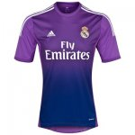 13-14 Real Madrid Goalkeeper Purple Soccer Jersey Shirt