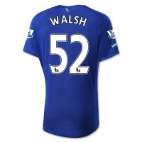 Everton 2015-16 WALSH #52 Home Soccer Jersey