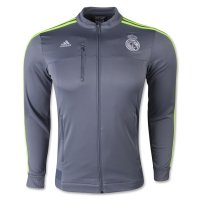 Real Madrid 2015-16 Anthem Jacket Grey