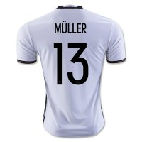Germany 2016 MULLER #13 Home Soccer Jersey