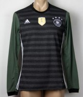 Germany 2016 LS Away Soccer Jersey