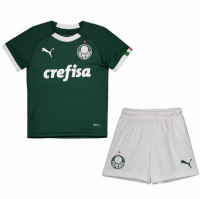 19/20 Kids Palmeiras Home Soccer Kit (Shirt+Shorts)