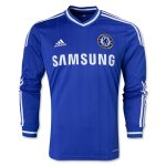 13-14 Chelsea Home Long Sleeve Jersey Shirt