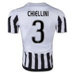 Juventus 2015-16 CHIELLINI #3 Home Soccer Jersey