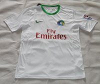 2015-16 New York Cosmos Home Soccer Jersey White