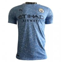 Manchester City 20/21 Home Soccer Jersey Authentic