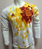 Spain 2016 LS Away Soccer Jersey
