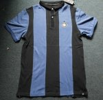 2013 Inter Milan Black&Blue Polo T-Shirt