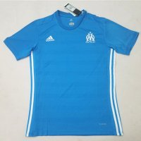 Olympique Marseille 2017/18 Away Blue Soccer Jersey