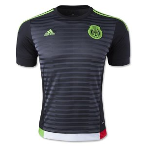 Mexico 2015 Black Home Soccer Jersey