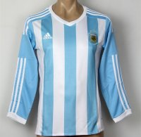 Argentina 2015 LS Home Soccer Jersey