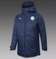 Palmeiras 20/21 Winter Cotton Coat Navy