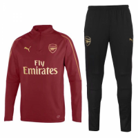 18-19 Arsenal Training Tracksuit Red/Black