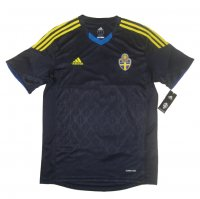 2013 Sweden Away Navy Soccer Jersey Shirt