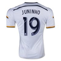 LA Galaxy 2015-16 JUNINHO #19 Home Soccer Jersey