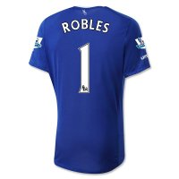 Everton 2015-16 ROBLES #1 Home Soccer Jersey