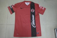 13-14 Club Tijuana Home Red Soccer Jersey Shirt
