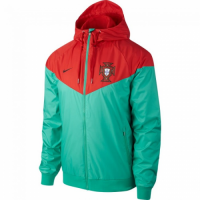Portugal 2018/19 Windrunner Jacket Red Green