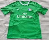 2015-16 New York Cosmos Away Soccer Jersey Green