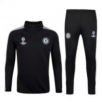 Chelsea 2015-16 Black Champions Ball Sweater With Pants