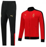 AC Milan 19/20 Tracksuit 120th Anniversary Jacket Red With Pants