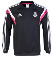 Real Madrid 14/15 Black Sweatshirt