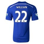 Chelsea 14/15 WILLIAN #22 Home Soccer Jersey