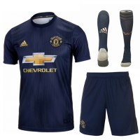 Manchester United 18/19 3rd Soccer Sets (Shirt+Shorts+Socks)