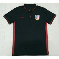 Atletico Madrid 16/17 Black Polo Shirt