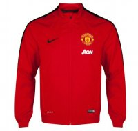 Manchester United 2014/15 Squad Sideline Woven Jacket Red