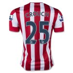 Stoke City 2015-16 CROUCH #25 Home Soccer Jersey