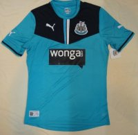 13-14 Newcastle United Goalkeeper Blue Soccer Jersey Shirt