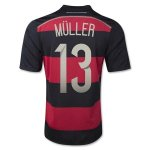 14-15 Germany Away MULLER #13 Soccer Jersey