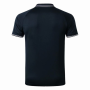 Real Madrid 19/20 Polo Dark Blue with Text