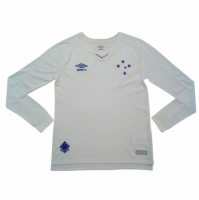 Cruzeiro 19/20 Away Long Sleeve Soccer Jersey Shirt
