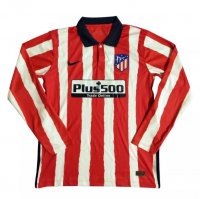 Atletico Madrid 20/21 Long Sleeve Home Soccer Jersey