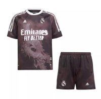 20/21 Kids Real Madrid Human Race Youth Soccer Kits