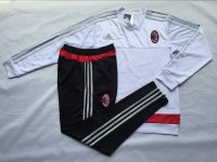 AC Milan 2015-16 Training Suit With Pants White