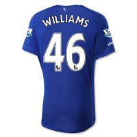 Everton 2015-16 WILLIAMS #46 Home Soccer Jersey