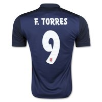Atletico Madrid 2015-16 F. TORRES #9 Away Soccer Jersey