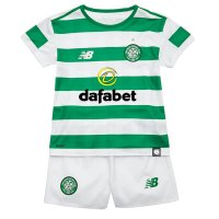 18/19 Kids Celtic Home Soccer Kit(Shirt+Shorts)